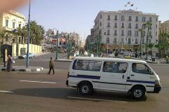 Street in Alexandria, Egypt