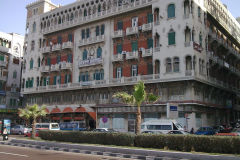 Buildings in Alexandria, Egypt