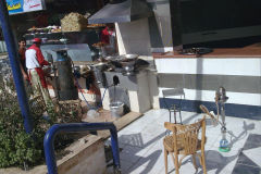 A shisha bar in Gizah Cairo Egypt