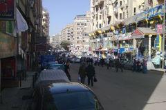 A street in Gizah Egypt