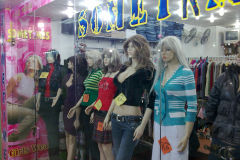 A clothes shop in Cairo Egypt