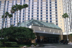 My first Hotel in the USA, in Orlando. Florida