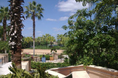 View inside Gaylord Palms, Orlando, FLorida, USA