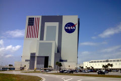 Vehicle Assemly Building at Kennedy Space Center, Florida, USA
