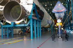 Saturn 5 at Kennedy Space Center, Florida, USA
