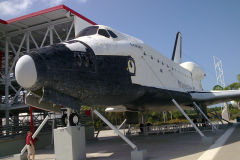 Space Shuttle at Kennedy Space Center, Florida, USA