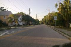 A street in Orlando, Florida, USA