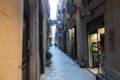 Streets in Barcelona, Spain