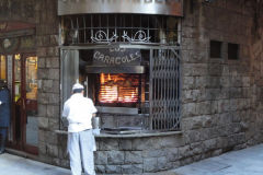 Streets in Barcelona, Spain