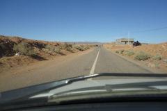 Sahara desert landscape between Zagora and Merzouga in Morocco