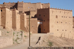 Kasbah Taourirt in Ouarzazate, Morocco