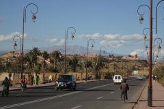 A street in Ouarzazate Morocco