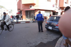 Street scene in Marrakech, Morocco