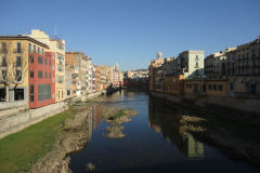 A river in Girona, Spain