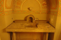 A comfortable sink in a Hostel in Girona, Spain