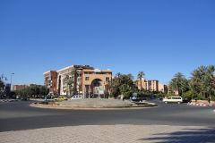 Buildings in Marrakech, Morocco