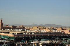 Jemaa el-Fnaa in Marrakech, Morocco