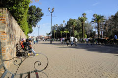 Street scene in Marrakesh, Morocco