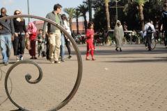 Begging child in Marrakesh, Morocco