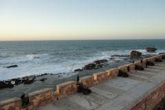 Ocean view in Essaouira, Morocco
