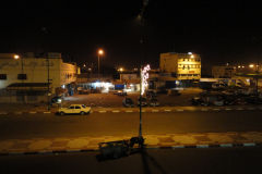 A place in the night in Inezgane, Morocco