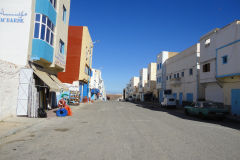 Street scene in Sidi Ifni, Morocco