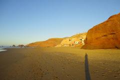 Legzira beach near Sidi Ifni, Morocco