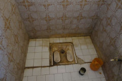 A toilet in a Hotel in Tafraoute, Morocco