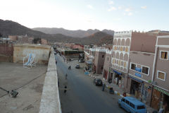 Cityscape of Tafraoute in Anti Atlas of Morocco