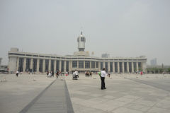 The train station of Tianjin, China