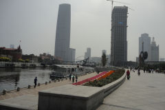 High-rise buildings in Tianjin, China