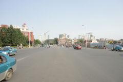 A street scene in Tianjin, China