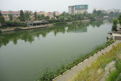 A river in Nanjing, China