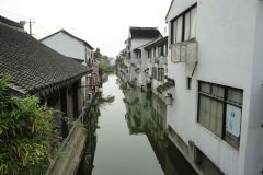 Street scene in Suzhou, China