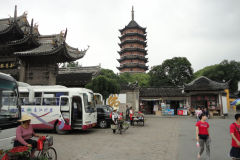 A pagoda in Suzhou, China