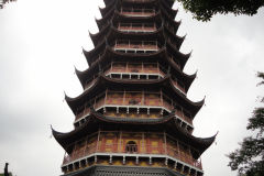 A pagoda in Suzhou, China