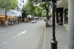 Street scene in Suzhou, China