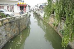 A street scene in Suzhou, China