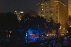 The Bund at night in Shanghai, China