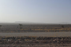 Sahara desert landscape around Mhamid, Morocco