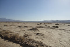 Landscape in the Mohave Desert, California, USA