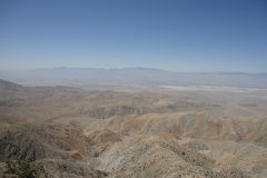 San Andreas Fault as seen from  Joshua Tree National Park, California, USA