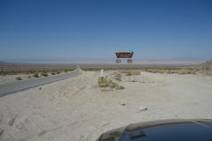 Landscape in the Mojave Desert, California, USA
