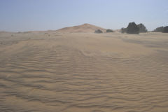 The sand dunes of Merzouga, Morocco