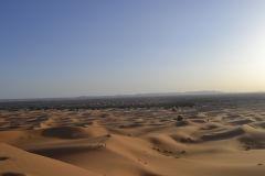 The sand dunes of Merzouga, Morocco