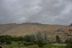 Landscape in the Atlas near the Dades Gorge near Boumalne, Morocco