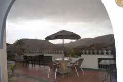 A restaurant near Dades Gorge near Boumalne, Morocco