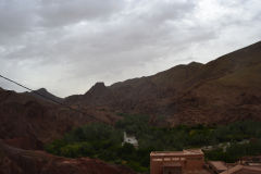 Landscape around Dades Gorge near Boumalne, Morocco
