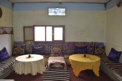 Inside a hotel near Dades Gorge near Boumalne, Morocco