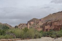 Landscape around Dades Gorge near Boumalne, Morocco